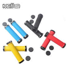 MEIJUN MTB Mountain Bikes Folding Bicycles Handle Handlebar Lockable Grips Comfortable Rubber and Aluminum Alloy Lock Ring