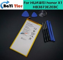 For HUAWEI honor X1 Battery High Quality 4850mAh HB3873E2EBC Battery replacement Backup Battery For HUAWEI honor X1 7D-503L+tool
