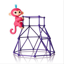 Fingerlings Unicorn monkey 6 color Monkey Sports frame Pet shop toys Eyes can turn/ joints are moving Toys Kids Christmas gifts(China)