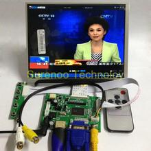 "8"" 1024*768 LCD Module Display Monitor Screen + HDMI/VGA/2AV Board for Raspberry Pi(China)"