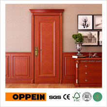 OPPEIN Guangzhou Manufacturer Veneer Wood Interior Door Design Room Door(YDE022D)(China)
