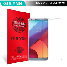 Buy 2Pcs/Lot GULYNN Amazing 2.5D 9H Tempered Glass LG G6 H870 LCD Screen Protector Glass Film Tough Package for $3.77 in AliExpress store