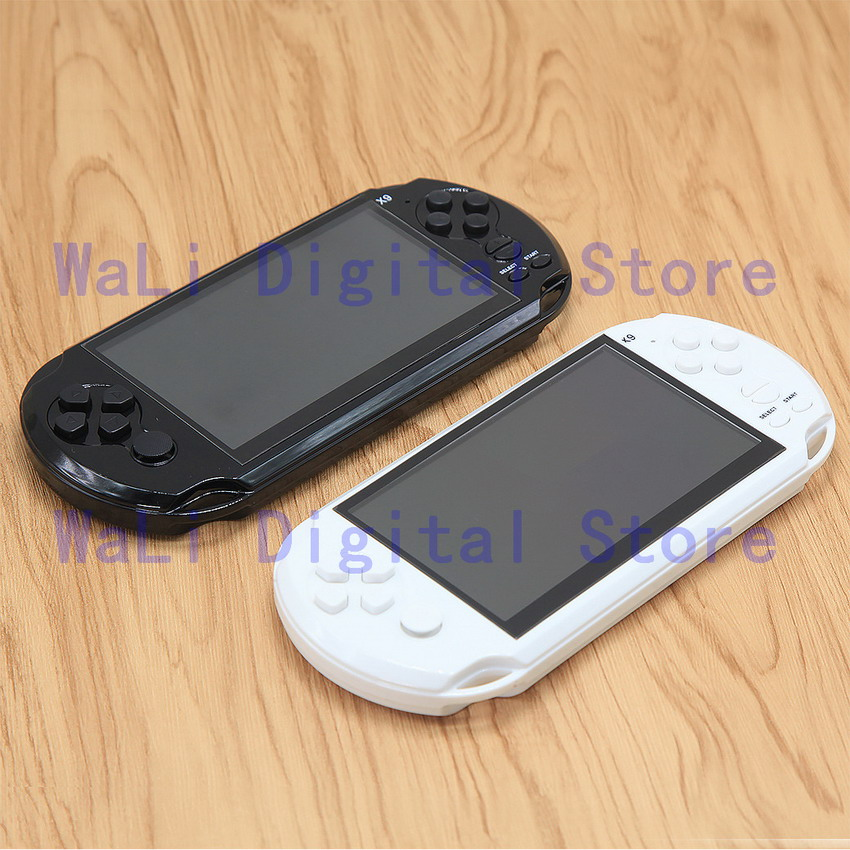 5 Inch Screen 8G Handheld New Video Game Console Built-in 1200+ Games for gba/gb/snes/nes/sega Console for Kids Educational Toy