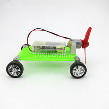 1suit J268b Plate Propeller with DC motor Small Car DIY Assemble Spare Parts Wind Power Vehicle Free Shipping