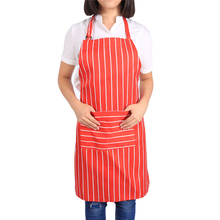 W Comfortable Women's Apron Oil Proof Housewife Cooking Kitchen Chef Waitress Waist Aprons 5 Colors