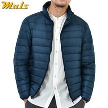 9 Colori 90% anatra bianca giù gli uomini giacca invernale ultralight  sottile uomo parka cappotto uomo abbigliamento di marca Mu. 0c73729f181