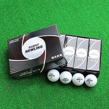 Three Piece Golf Ball Golf Game Ball Golf Super Long Distance Ball 12pcs/box Wholesale