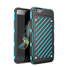 For iPhone 6 6s Plus Case Rugged Shockproof Armor Hybrid Rubber TPU Hard Cases Cover For iPhone 6 6 Plus 6S(China)