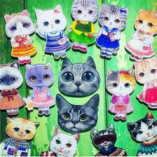 1 PC Hot Sale Meow Star people Acrylic Brooch Badges Decoration Pin On Backpack Women Clothes Decorative Brooches Cat Pins