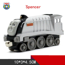 SPENCER One Piece Diecast Metal Train Toy Thomas and Friends Megnetic Train The Tank Engine Toys For Children Kids Gifts