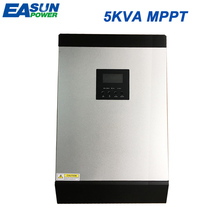EASUN POWER 5KVA Solar Inverter 48V 230V Pure Sine Wave Hybrid Inverter Built-in MPPT Solar Charge Controller Battery Charger(China)