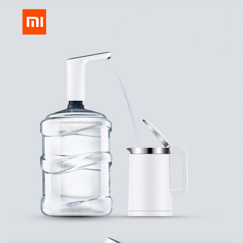 Xiaomi Mijia 3Life Wireless Rechargeable USB Automatic Mini Touch Switch Water Pump Electric Dispenser Water Pump With USB Cable