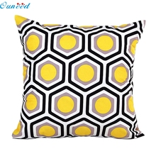 Fashion Heaven Hot Sale Geometric Shape Sofa Bed Home Decor Pillow Case Cushion Cover Free Shipping Sep12