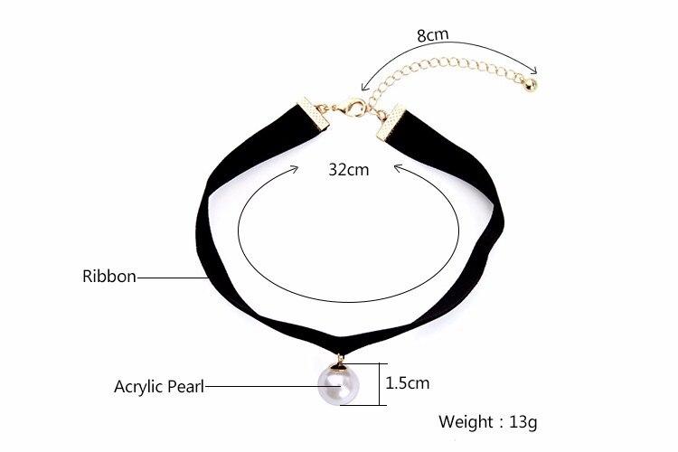 HTB1ewIqOFXXXXXNXpXXq6xXFXXX4 - KISS ME New Popular Black Chokers Round Simulated Pearls Choker Necklace 2017 Fashion Jewelry Women Bijoux