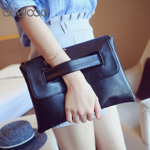Aliwood 2018 Fashion Women's Envelope clutch bag Trend Female Crossbody Bags Leather Handbag Ladies Shoulder Bags Clutches Purse