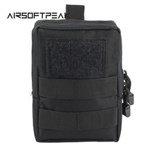 1000D Outdoor Military Tactical Waist Bag Multifunctional EDC Molle Tool Zipper Waist Pack Accessory Durable Belt Pouch