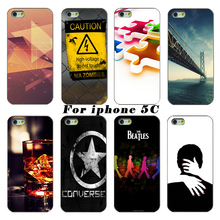 The latest fashion smartphone transparent PC shell casing For Apple iPhone 5c case mobile phone sets