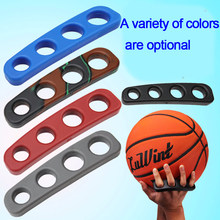 1 pack 1pcs 5 Colors Silicone Basketball Ball Shooting Trainer Three-Point Size S/M/L Training Accessories(China)