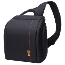 Sling Shoulder Camera Bags Waterproof Nylon Digital Video Photo Camera Bags For DSLR Canon Nikon Sony with Rain Cover D8