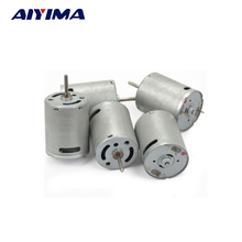 AIYIMA 5pcs 370 Micro DC Motor DC7.4V 30500RPM High Speed Ship Car Model Motors For DIY