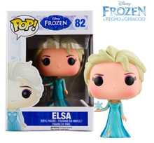 Disney Toys Funko Pop Cartoon Movies Frozen Elsa Anna Model With Box PVC Action Figure Collection Toy Doll Kids