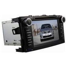 2din 7 inch for TOYOTA Corolla 2012 radio tape recorder with GPS DVD player  BT IPOD TV 3G USB host Free map