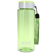 800ML CARGEN Portable Transparent Water Colorful Design Leisure Travel Sport Plastic Bottle Cup With Hand Rope Gift For Climbing