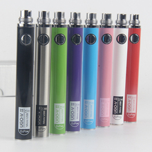 Evod ego battery electronic cigarette ugo v II battery for e cigarette MT3 GS H2 clearomizer USB Passthrough ugo v II 650900mah(China)
