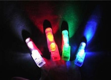 Novelty props yiwu colorful finger toys can light-up Colorful finger laser light