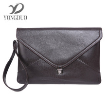 YONGDUO 2017 Marca De Luxo High Quality Hand Bag Men PU Leather versatile Casual Bags men leather bags men wallets Day Clutches