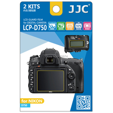 JJC LCP-D750 Pro Polycarbonate LCD Display Monitor Guard Film Screen Protector Cover for NIKON D750 DSLR Camera