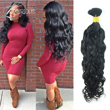 6A unprocessed human hair Russian virgin hair Natural wave customized 4-28 inches hair extensions Russian hair weave bundles