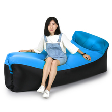2017 New Inflatable Lounger Air Beds Inflatable air sofa Beach fast folding sleeping bag Beach  Sleeping Sofa Couch for Camping