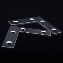 DHL free shipping 201 stainless steel 60*60mm L shape metal plate brace guangdong factory 100pcs/lot