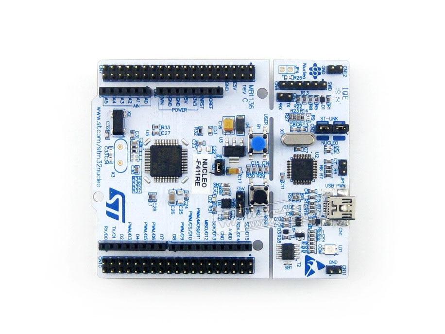 STM32 Board Nucleo NUCLEO-F411RE STM32F411RE STM32 Development Board ST-LINK/V2-1 Debugger/Programmer<br><br>Aliexpress