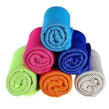 1PC New Ice Cold Enduring Running Jogging Gym Chilly Pad Instant Cooling Outdoor Sports Towel