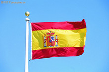 Indoor  No Flagpole polyester Outdoor  Spanish flag High Quality  Flying Flag  Home decoration