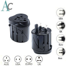 All in One Universal International Plug Adapter World Travel AC Power Charger Adaptor AU US UK EU converter Plug Wall Charger(China)