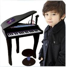 Pink & black 37 Keys Kids Keyboard Children Student Electronic Digital Piano With Microphone