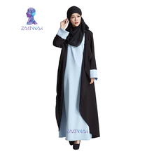O005 sale abaya in dubai kaftan muslim dress maxi dress islamic abaya women casual party turkish jilbab high quality maxi dress(China)