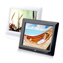 "2016 High Quality Multi-function  8"" High TFT-LCD HD Digital Photo Movies Frame Alarm Clock MP3 MP4 Player"