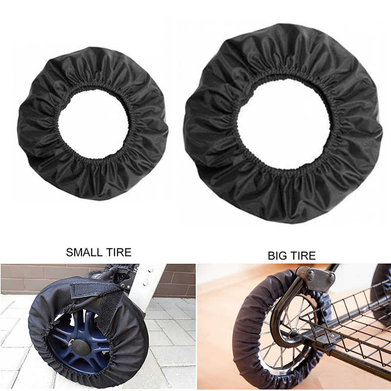 Universal Wheels Protection Cover For Pram Pushchair 4pcs Set With Bag
