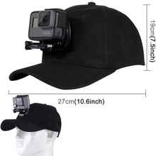 Gopro Accessories Adjustable Canvas Sun Hat Cap Gopro Hero 5 4 3 SJCAM SJ7 SJ6 M20 Eken H9 H9R H8 Pro Yi 4K Sport Action Camera