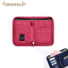 DINIWELL Travel Passport Cover Wallet Travelus Multifunction Credit Card Package ID Holder Storage Organizer Clutch Money Bag