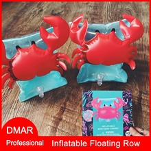 DMAR Inflatable Arm Band Swimming Ring for Kids Flamingo Crab Pool Float Swimming Trainning Equipment Float Sleeve Beach Toys(China)