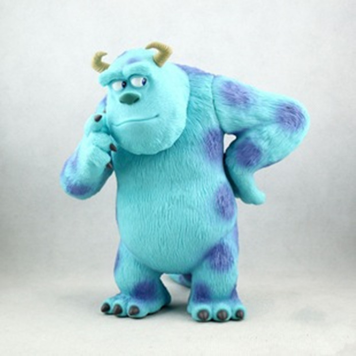 Free shipping Action Figure Toys Monsters Inc. James P Sullivan Sulley Garage Kit Doll Brinquedos Anime KB0493<br>
