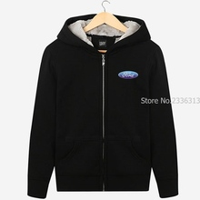 Ford standard 4S shop sweatshirt repair shop work clothes men and women aftermarket test drive zipper jacket coats
