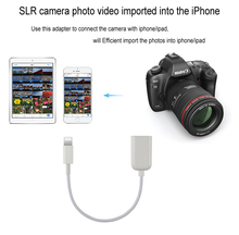 8 Pin Male to Female USB OTG Cable adapter Camera Connection Kit Adapter for iPad 2 3 4/Mini/Air 5 for iPhone 5 5S 6 6 Plus