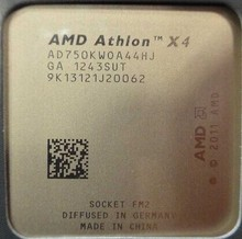 AMD Athlon II X4 750 K 3,4 ГГц 4 МБ Quad-Core Cpu FM2 904-pin x4-750k процессор(China)