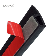 KAHNOS P Type Car Rubber Seal Filler Adhesive 3m door seal High Density Car Door Seal Strip Noise Insulation car accessories